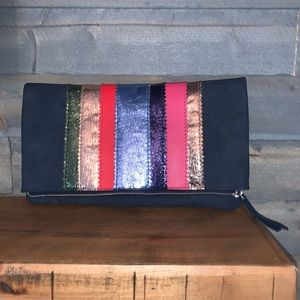 Stella and dot clutch. New